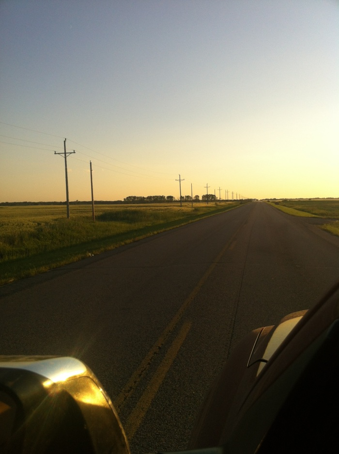 Sunset in North Dakota Wheat Fields!
